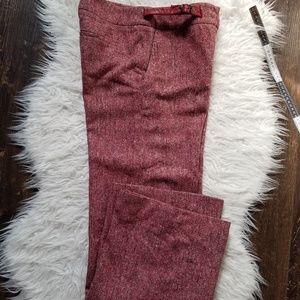 Antropologie vintage wool flare panst